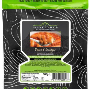Wayfayrer Food | Beans & Sausage