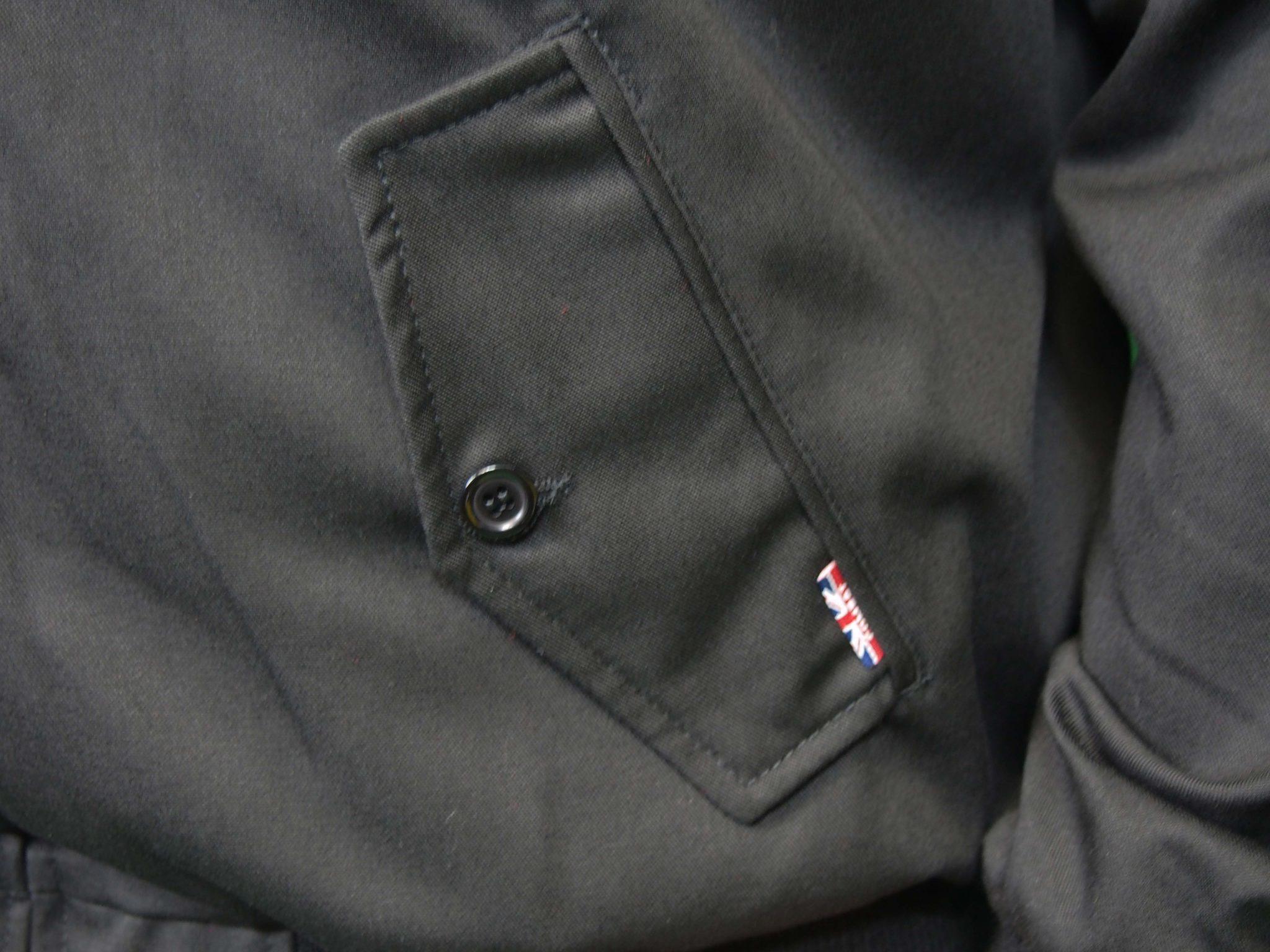 Combat Harrington Jacket Black Camp Kitchen