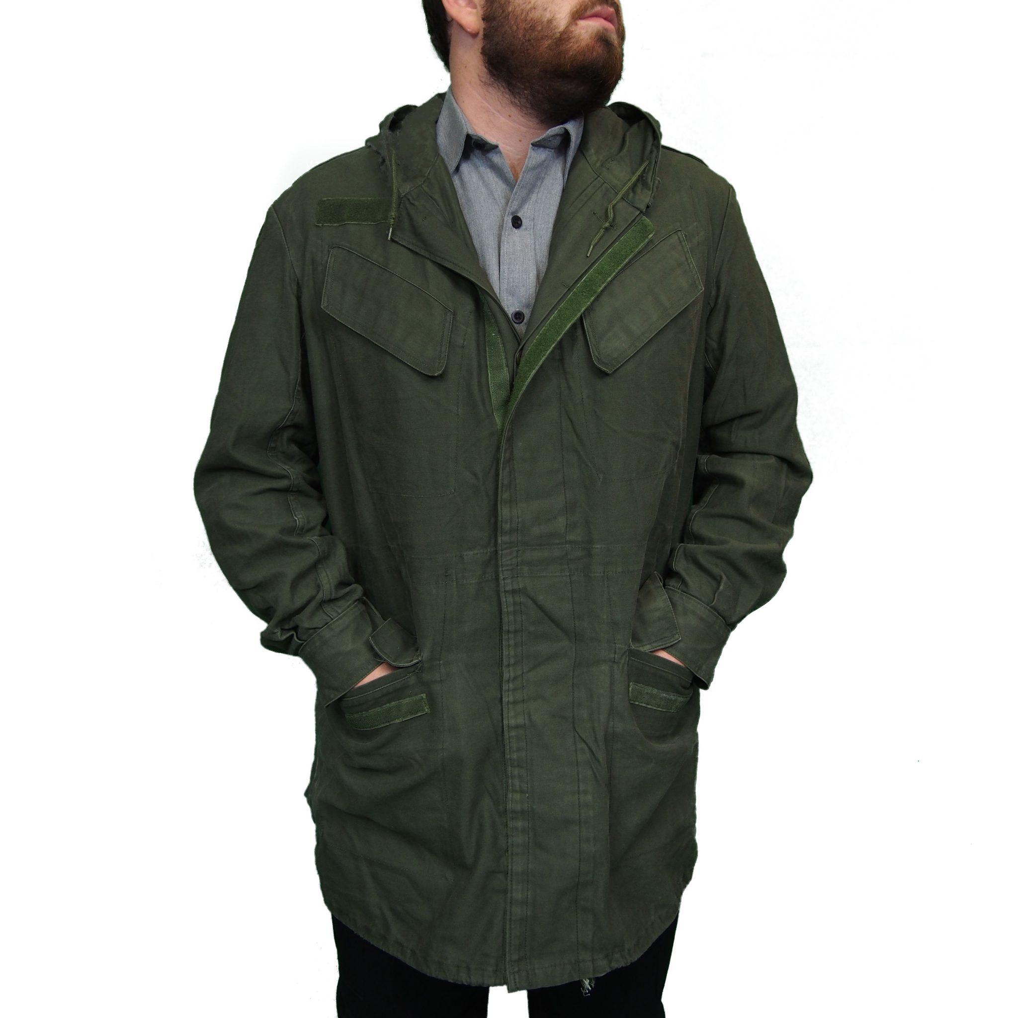 M64 Belgium Field Jacket   Olive Front