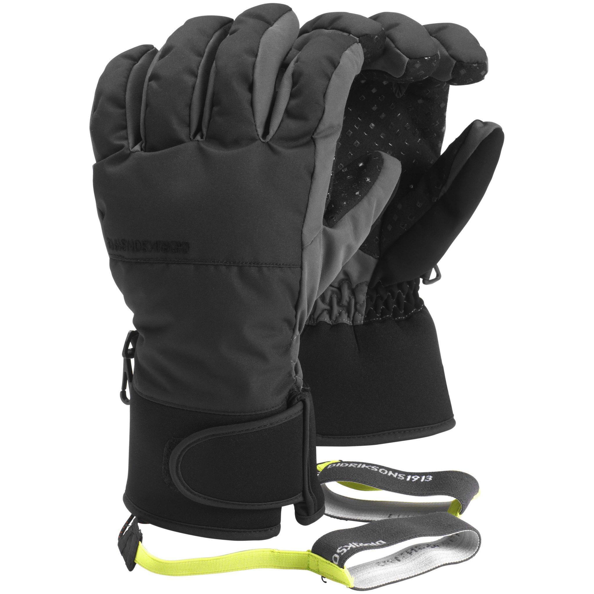 Didrikson Sethos Gloves | Black
