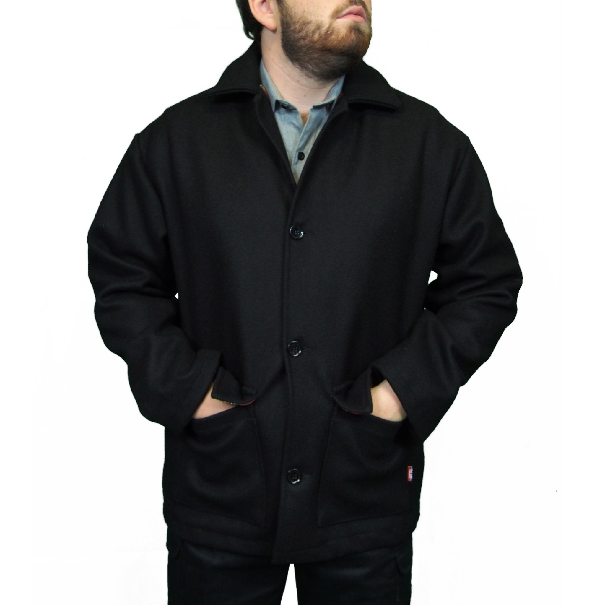 Combat Original Donkey Jacket | Black