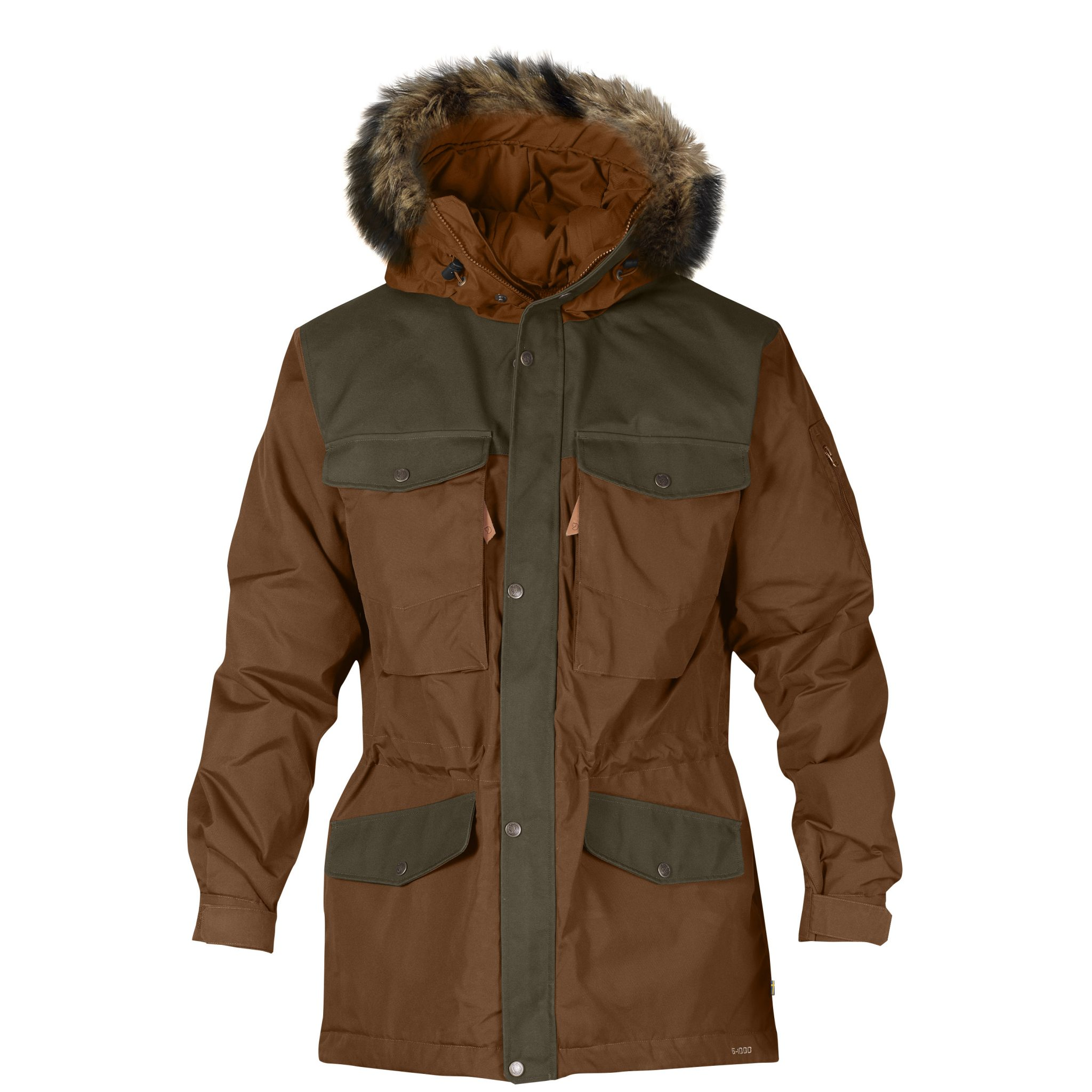 Fjällräven Singi Winter Jacket | Chestnut
