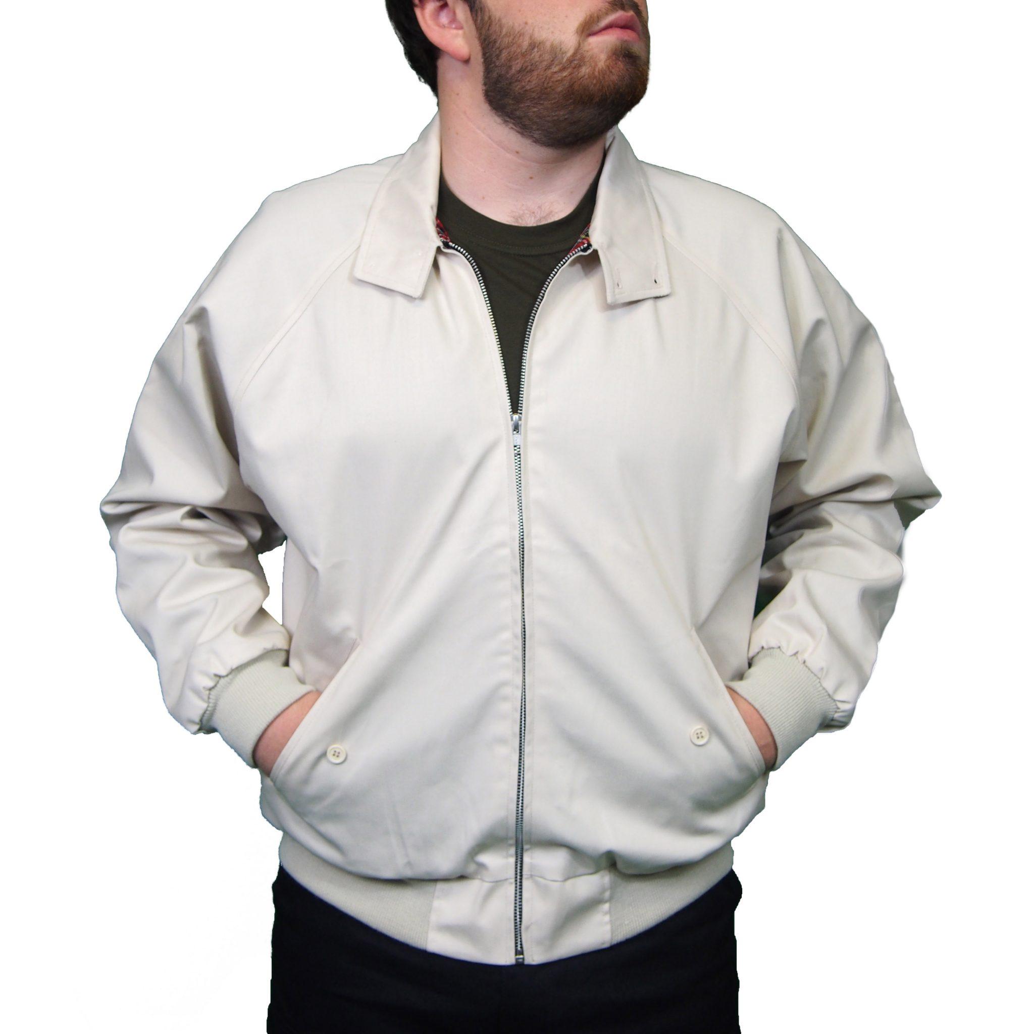 Combat Harrington Jacket | Beige