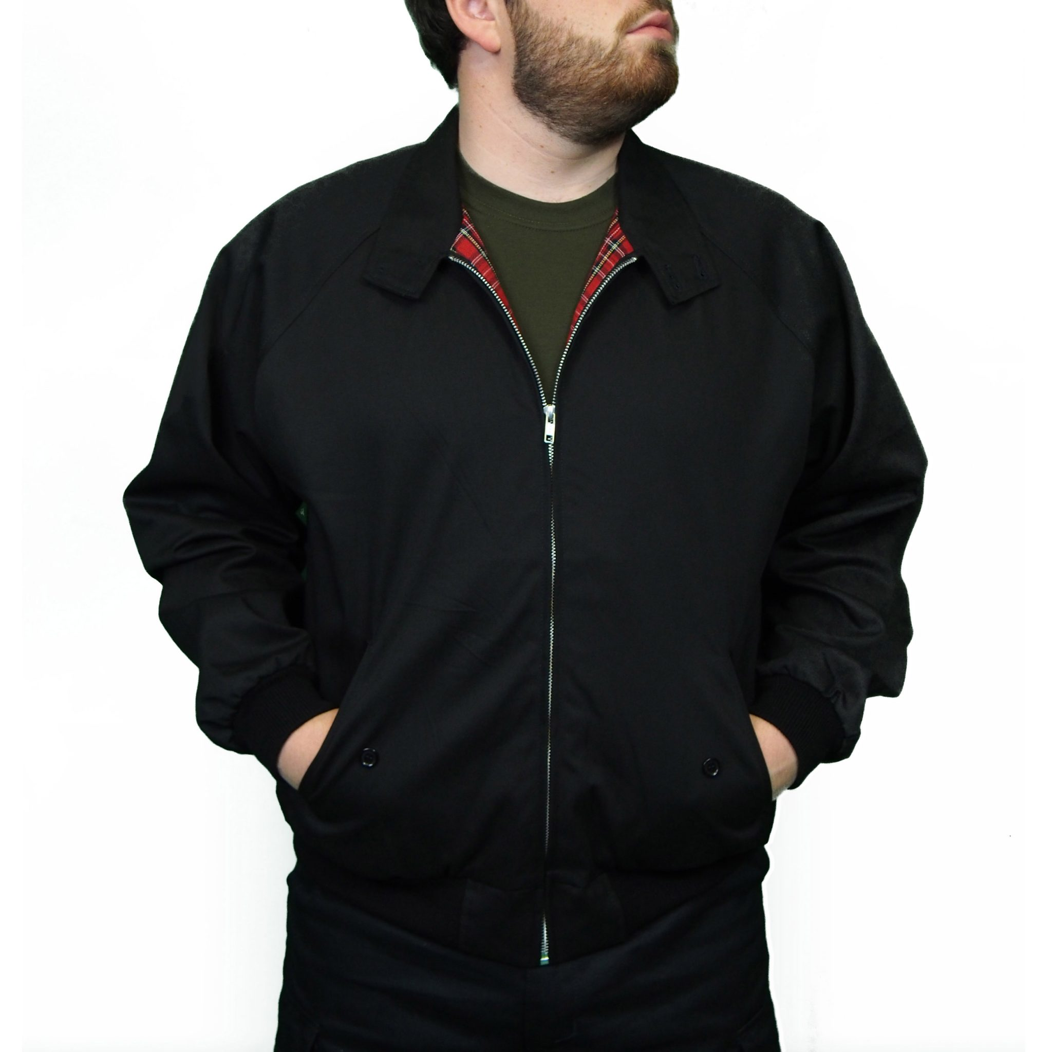 Combat Harrington Jacket | Black