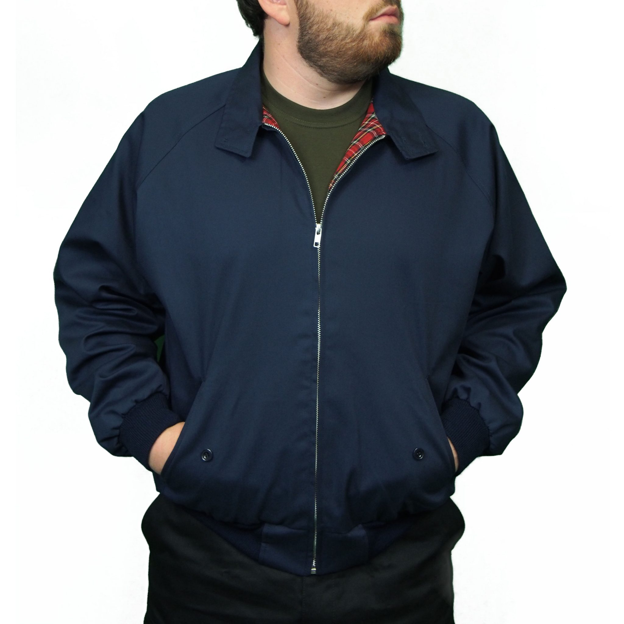 Combat Harrington Jacket | Navy