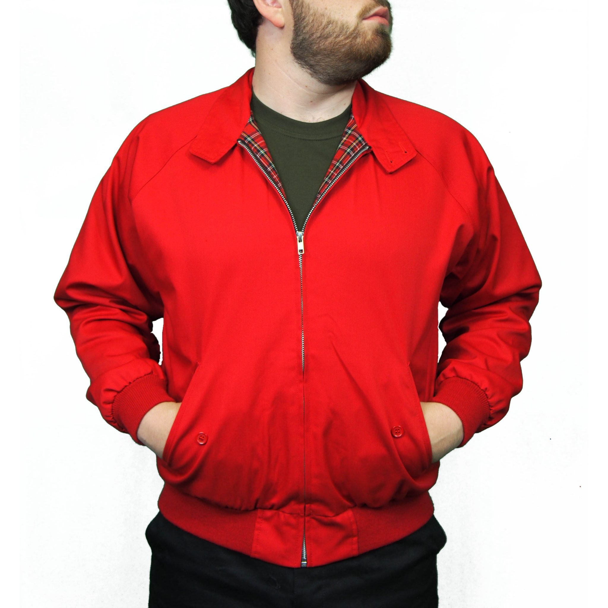 Combat Harrington Jacket | Red
