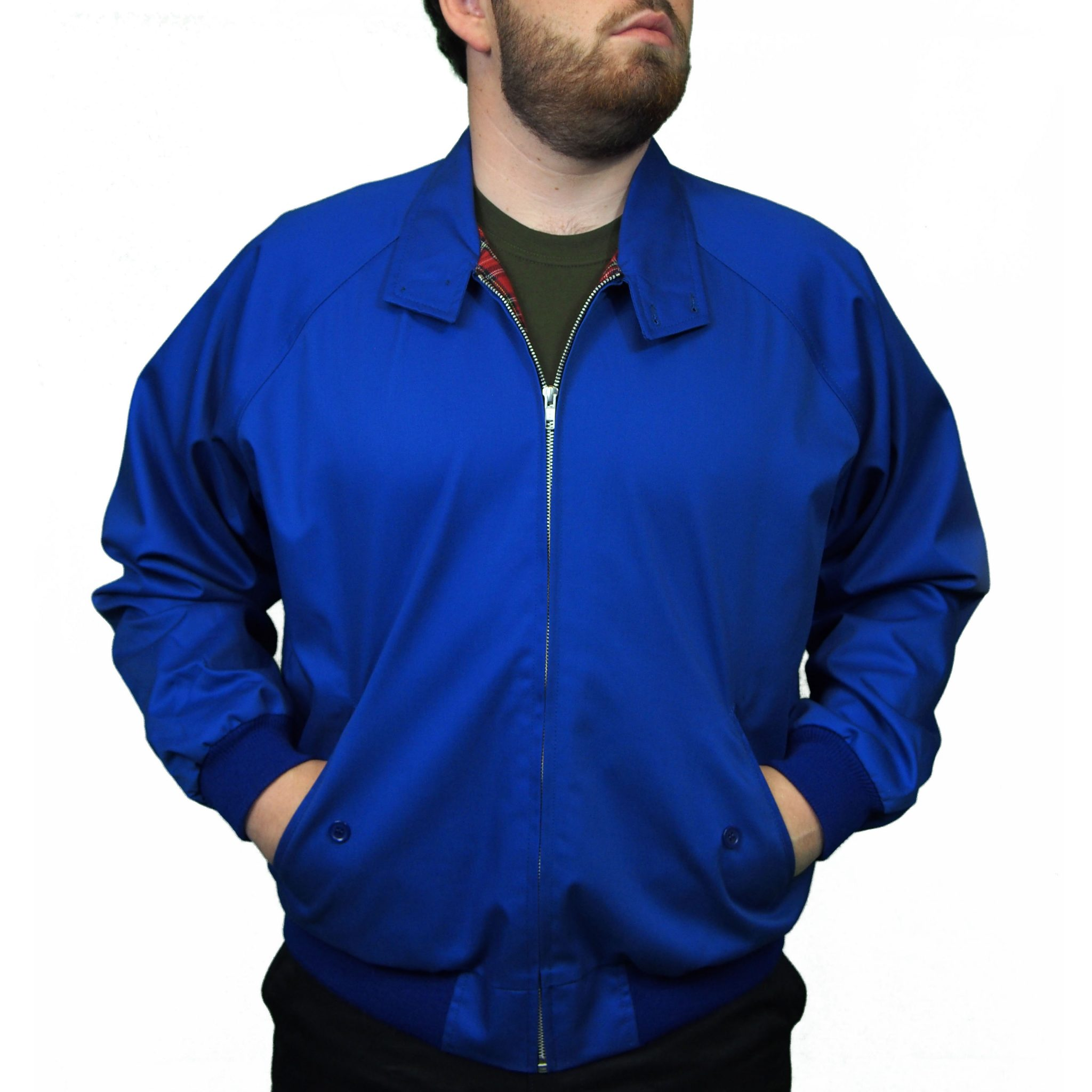 Combat Harrington Jacket | Royal Blue