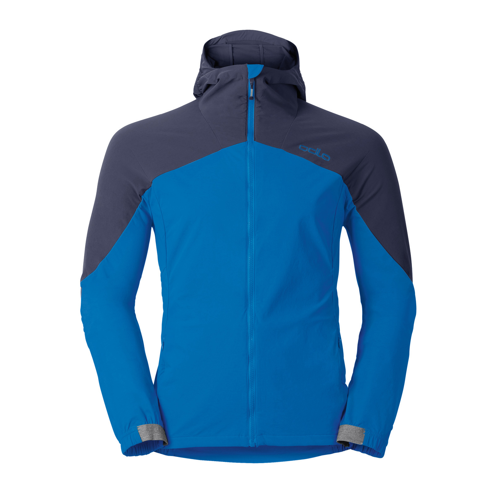 Odlo Flow Jacket | Drectoire Blue/Peacoat