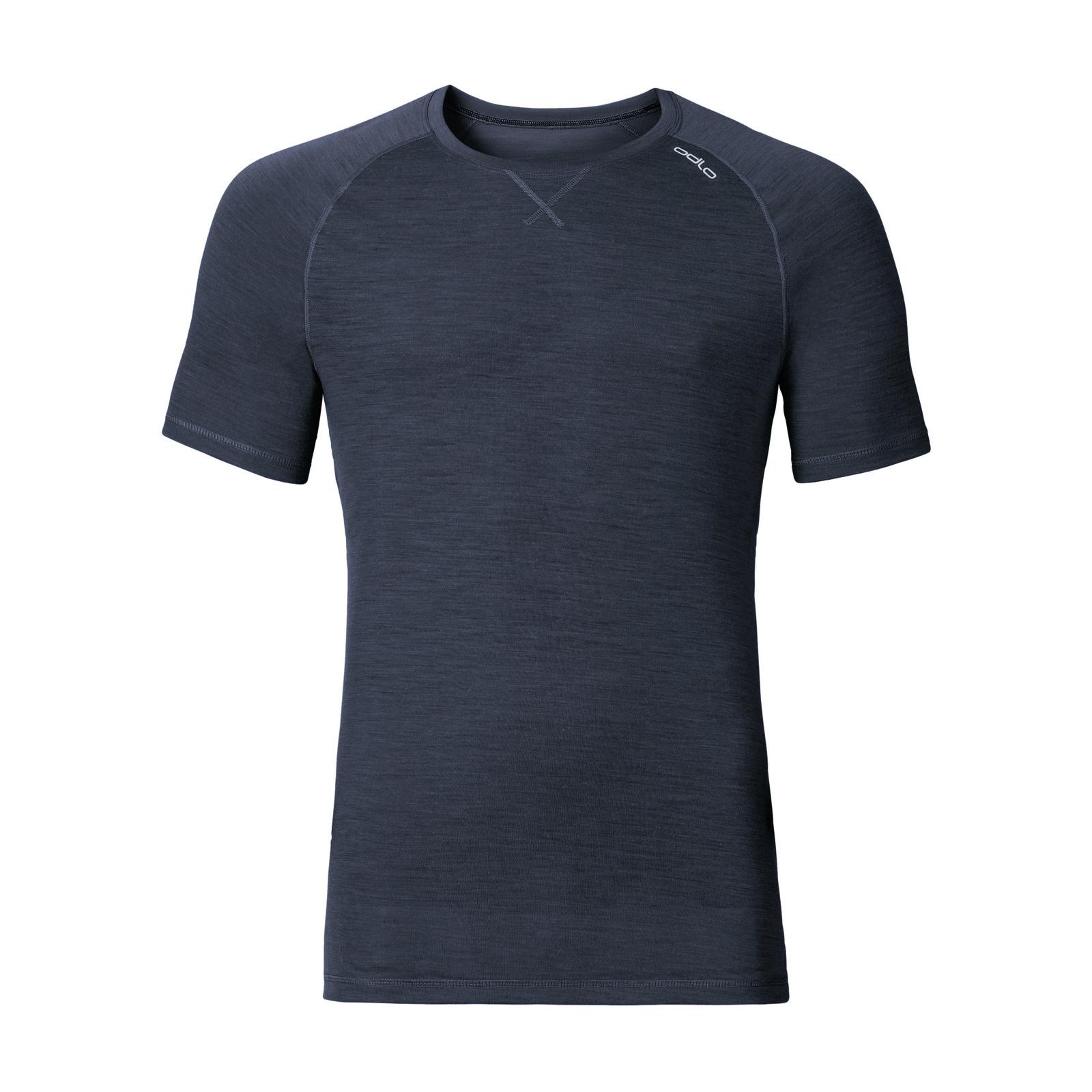 Odlo Revolution Lite S/S Shirt | Navy Melange