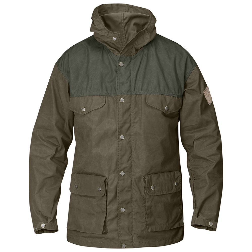 Fjällräven Greenland Jacket | Dark Olive/Mountain Grey