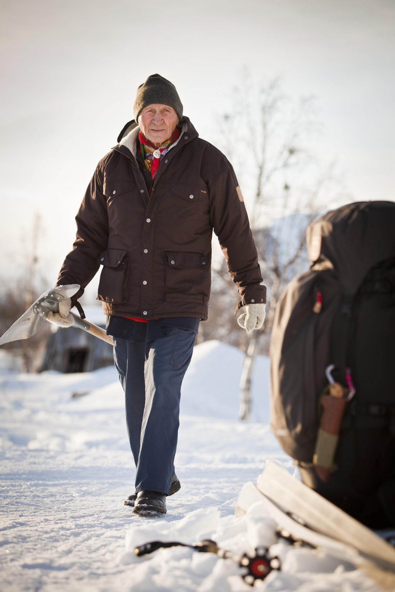 Fjallraven Greenland Winter Jacket Night Sky Camp Kitchen