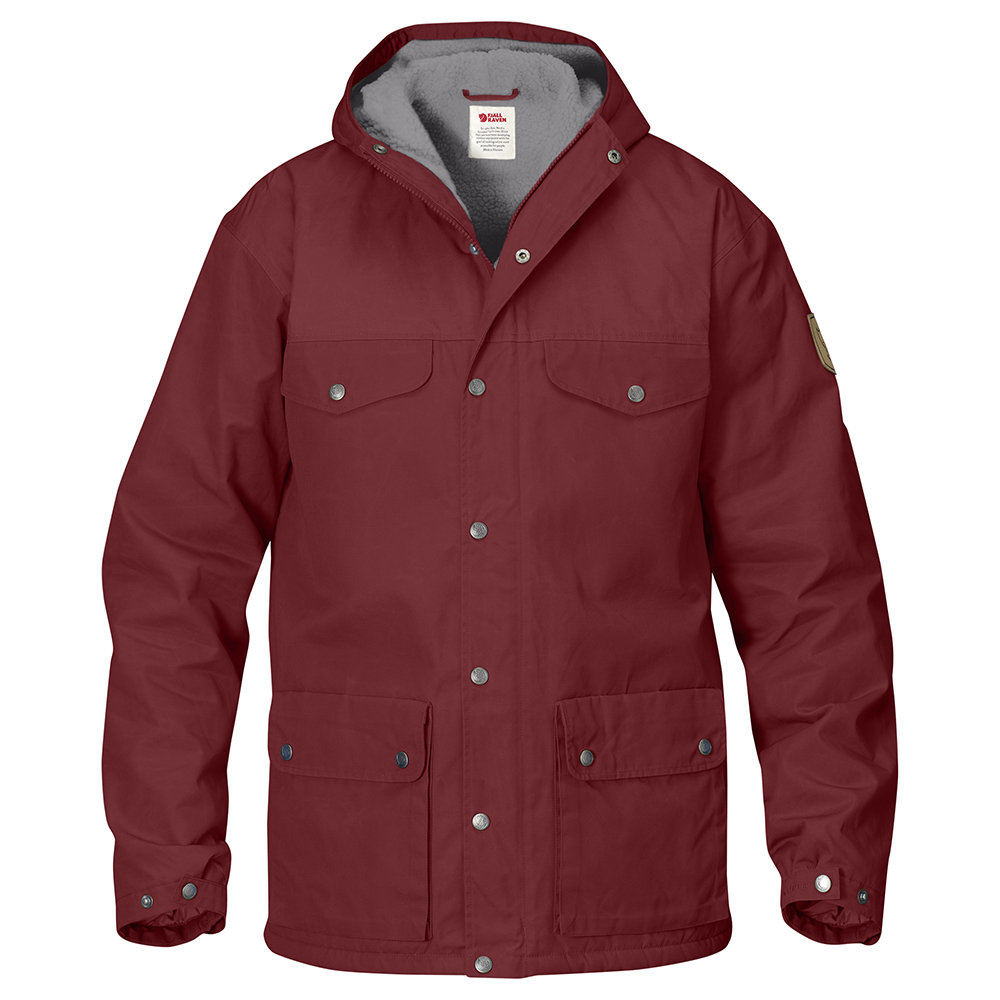 Fjällräven Greenland Winter Jacket | Red Oak/Grey