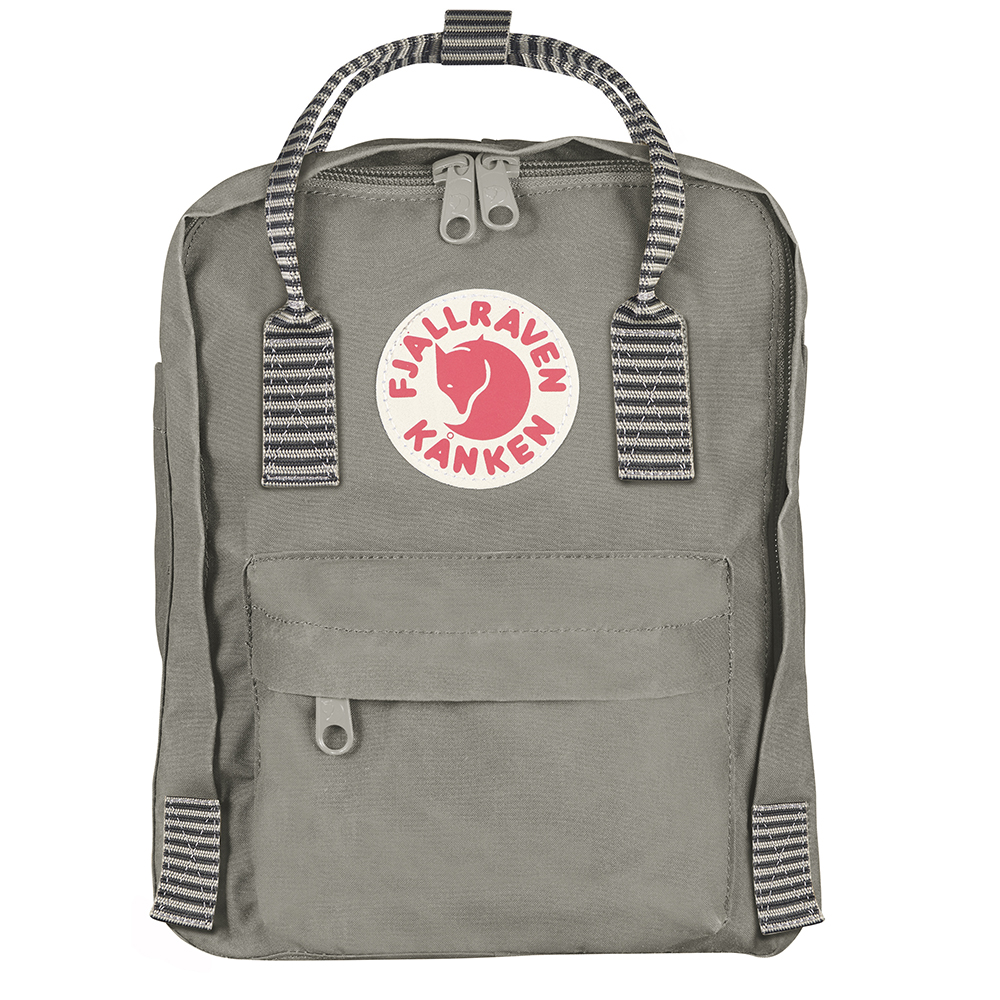 Fjällräven Kånken Mini | Fog/Striped