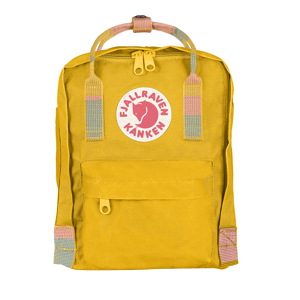 Fjällräven Kånken Mini | Warm Yellow/Random Blocked