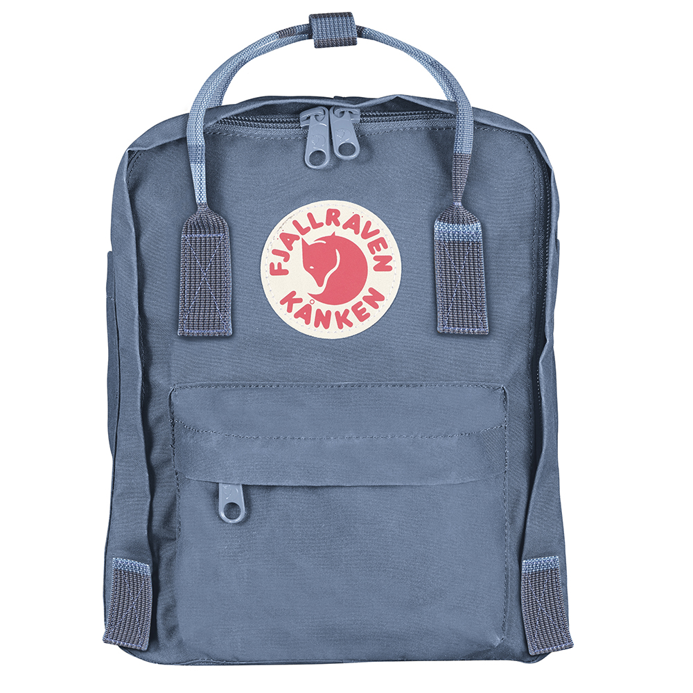 Fjällräven Kånken Mini | Blue Ridge/Random Blocked