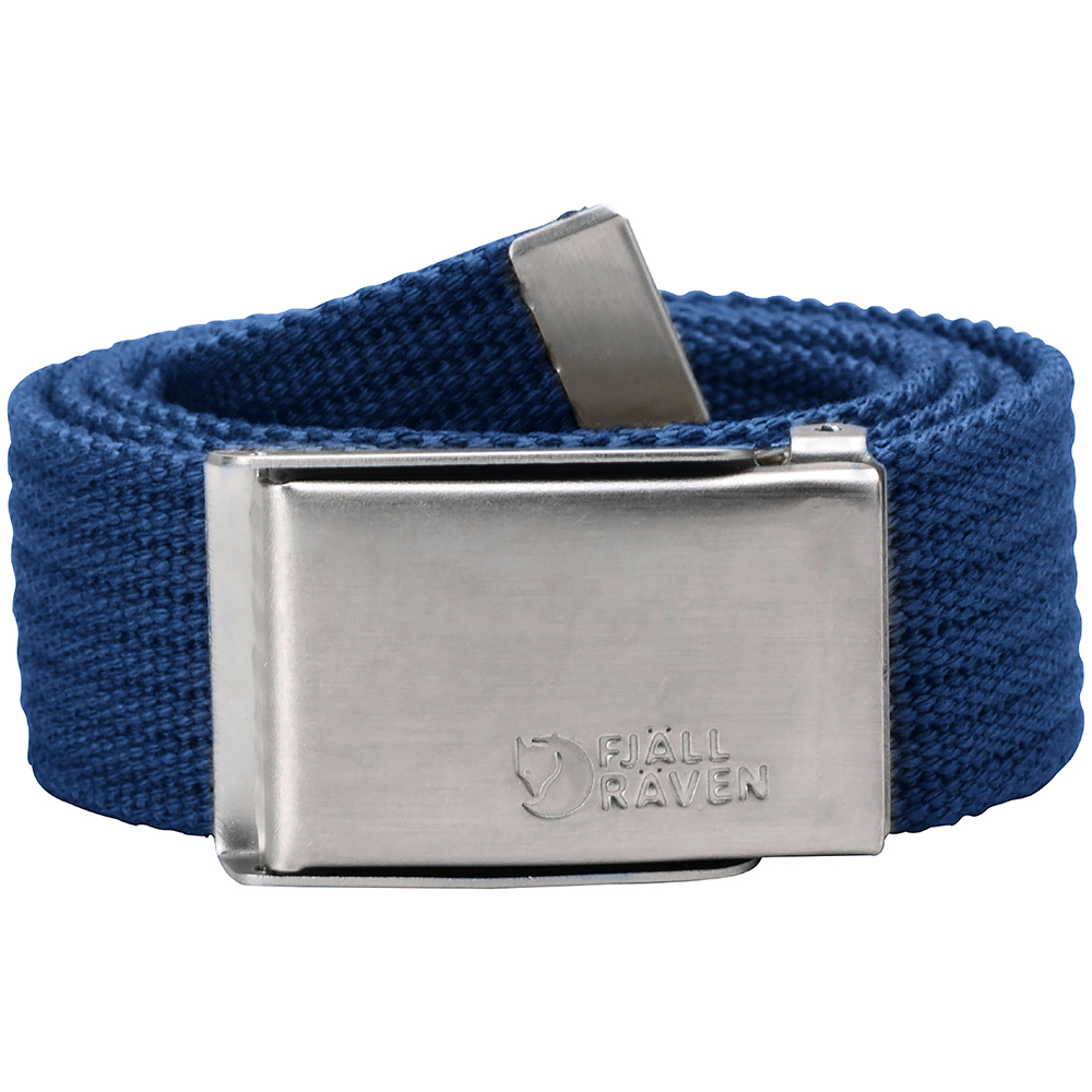 Fjällräven Merano Canvas Belt | Deep Blue