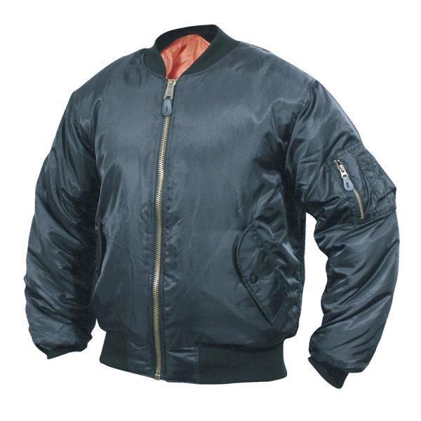 Mil-Com MA1 Flight Jacket   Black
