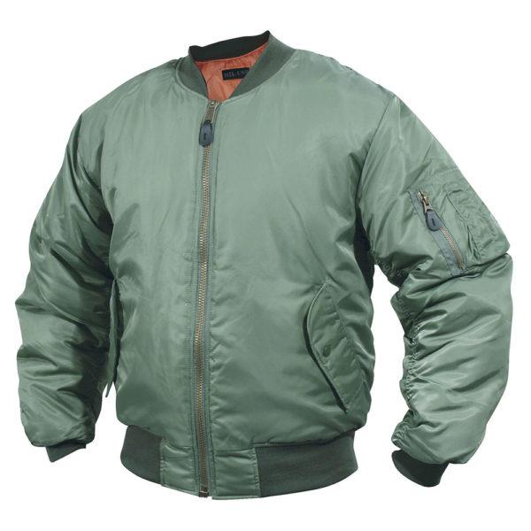 Mil-Com MA1 Flight Jacket   Olive