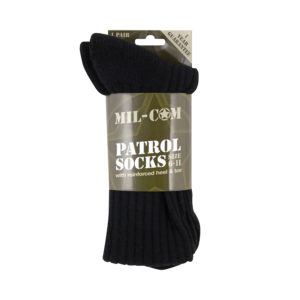 Mil-Com Patrol Socks | Black