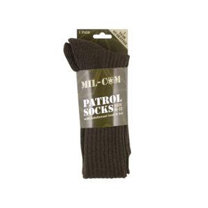 Mil-Com Patrol Socks | Olive