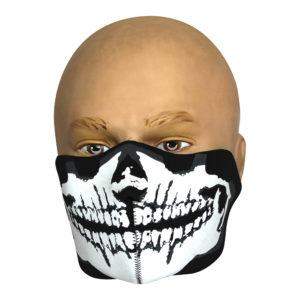 Viper Neoprene Half Face Mask | Skull