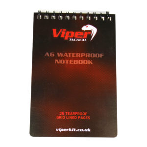 Viper A6 Waterproof Notebook