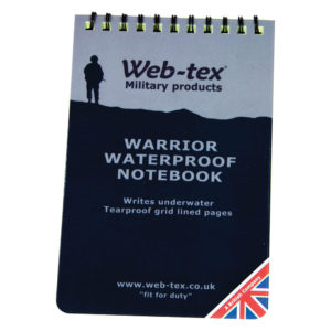 Web-Tex Warrior Waterproof Notepad