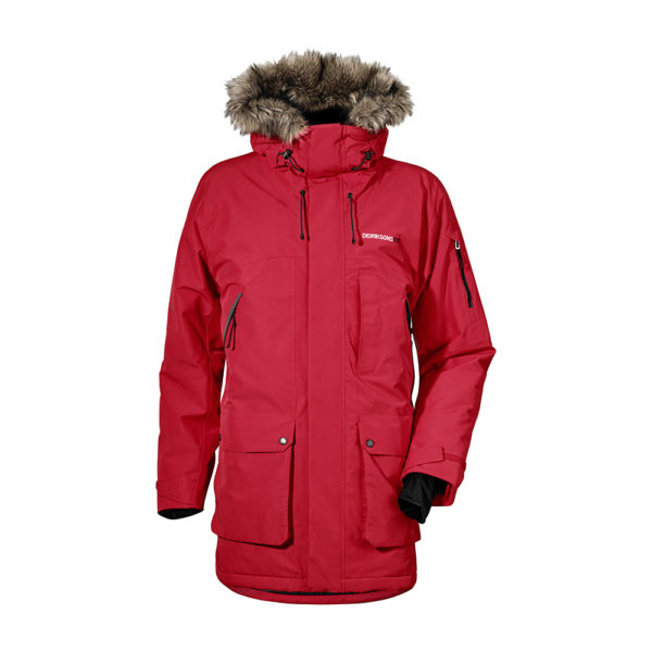 Didrikson Marcel Jacket | Red