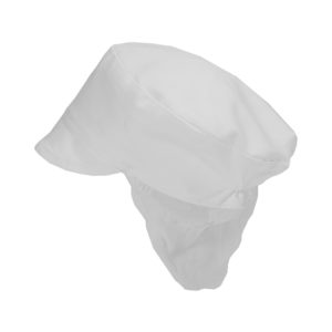Dennys Snood Cap | White