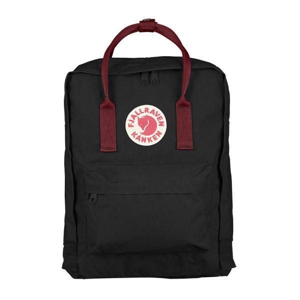Fjällräven Kånken Backpack | Black Ox Red