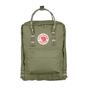 Fjällräven Kånken Backpack | Green Folk Pattern