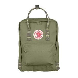 Fjällräven Kånken Backpack | Green Folk Pattern