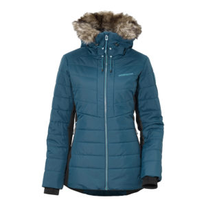 Didrikson Ona Padded Jacket | Port Blue