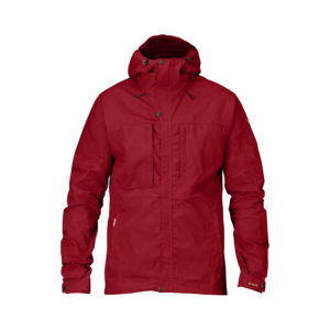 Fjällräven Skogsö Jacket | Deep Red