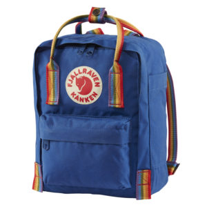 Fjallraven Kanken Mini Rainbow | Deep Blue Rainbow