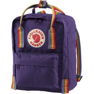 Fjallraven Kanken Mini Rainbow | Purple Rainbow
