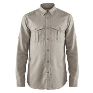 Fjallraven Ovik Travel Shirt LS | Fog