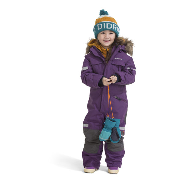 Didrikson Migisi Kids Coverall Front