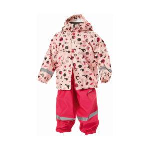 Didrikson Slaskeman Kids Set | Pink