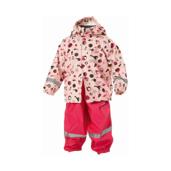 Didrikson Slaskeman Kids Set | Pink