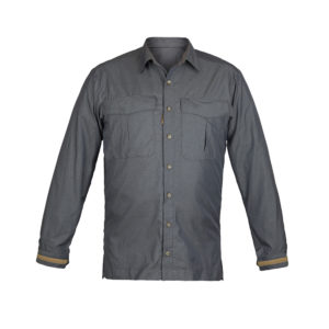 Paramo M Katmai Shirt | Rock Grey