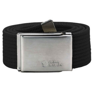 Fjallraven Canvas Belt | Black