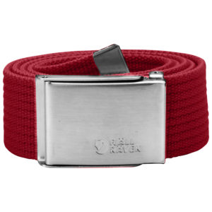 Fjallraven Canvas Belt | Deep Red