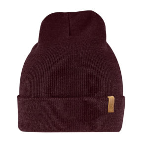 Fjallraven Classic Knit Hat | Dark Garnet