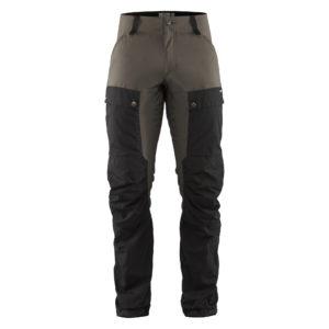 Fjallraven Keb Trousers Long | Black Stone Grey