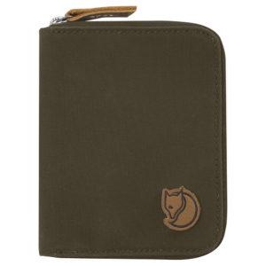Fjallraven Zip Wallet | Dark Olive
