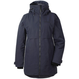 Didriksons Helle Parka | Dark Night Blue