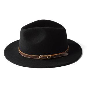 Failsworth Adventurer Felt Hat   Black