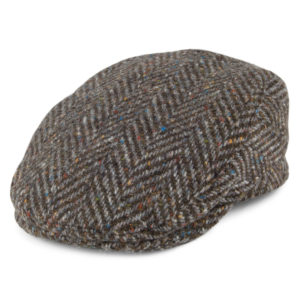Failsworth Longford Donegal Tweed Cap | Peat
