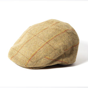 Failsworth Gamekeeper Tweed Cap | Beige